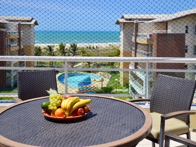 Photo for Luxurious duplex in front of the sea, sleeps 13 people, with 6 bedrooms, 5 bathrooms
