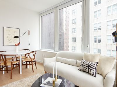 Photo for Pleasant 2BR in FiDi by Sonder