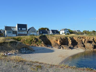 Photo for Charming seaside, comfort, 2 steps from the beach and coast