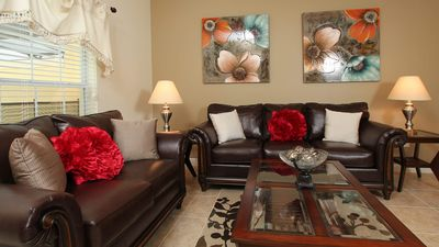 Photo for Near Disney World - Paradise Palms Resort - Beautiful Cozy 4 Beds 3 Baths Townhome - 4 Miles To Disney