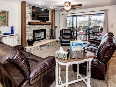 Photo for COME & PLAY #1 GROUND FLOOR LAKE FRONT W/INDOOR/OUTDOOR TENNIS & POOLS FREE WYFI