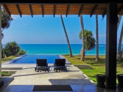 Photo for Villananda Beach Villa With Pool Including Breakfasts And 2 Staff, Wifi And Air-