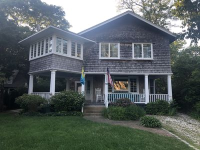 Photo for East Chop Home with Central Air!  Steps from Beach and Oak Bluffs Harbor