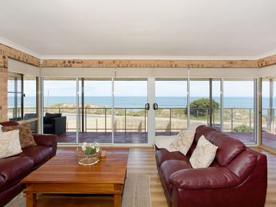 Photo for Ocean View Beach House 180 degree  Ocean  views. 20 m from the Beach/King Beds!