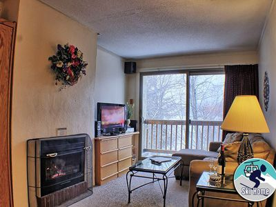 Photo for Ski home to this cozy condo with shuttle to Slopes