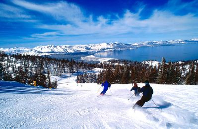 Skiing at Heavenly