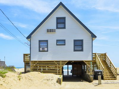 Photo for Enjoy ocean sounds and a expansive beach view from this 3 BR Oceanfront home.