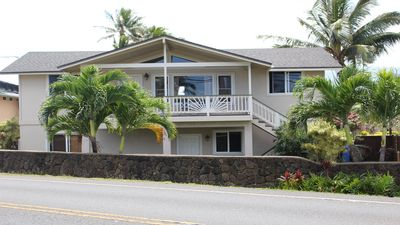 Photo for 3 Bedroom, Partial Ocean View, with A/C, Close to Hukilau Beach, MONTHLY
