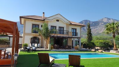 Photo for Large Luxury Villa With Private Swimming Pool In Lapta, North Cyprus.