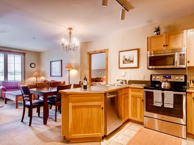 Photo for NOW OPEN! Walk to Gondola- 2 BED 2 BATH IN KEYSTONE VILLAGE - DAKOTA LODGE