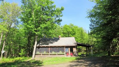 Photo for CAMP 51 - Private Northwoods Getaway- Direct Trail Access - Wifi / Cell Service