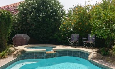 Pool, Spa, Gas Grill for outdoor fun
