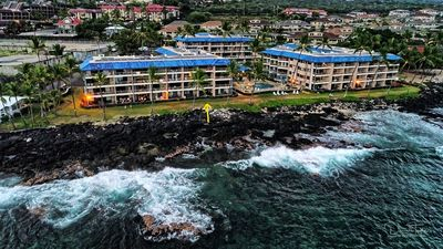 Photo for Steps away from the waves - Beautiful Ocean Front condo with King bed