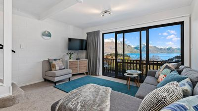 Photo for Central Queenstown Malaghan Apartment | Lake Views