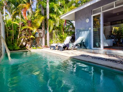 Photo for Hanalei Beach House~Close to Beach, Private Pool!