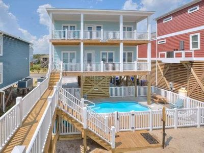 Photo for BRAND NEW OCEANFRONT 5 BR/3.5 BA Home with Private POOL&Breathtaking Views-Sleeps 15