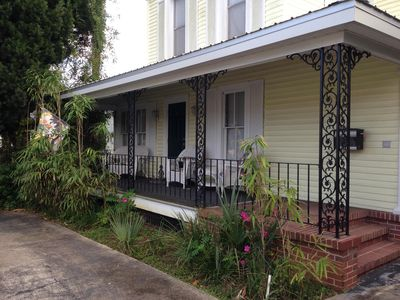 Photo for The Marigold Floridian  - Beautiful Porch with a  Short Walk To Downtown