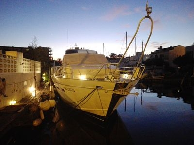 Photo for Boat: Cabins d'Hotes aboard a Cantieri Di Pisa