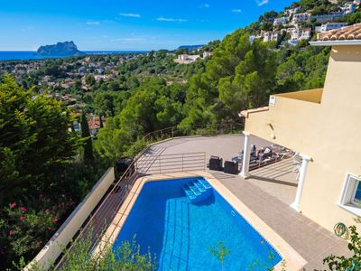 Photo for Vacation home Saralisa in Moraira - 8 persons, 4 bedrooms