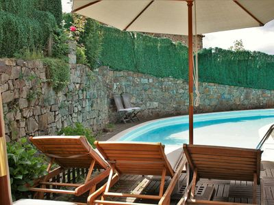 Photo for Cosy Apartment with Wi-Fi, Garden, Terrace and Pool