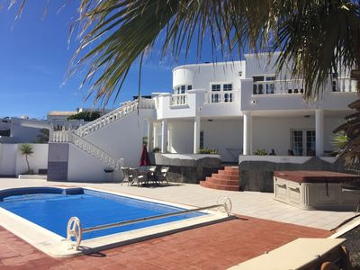 Photo for Luxury Villa, Sea Views, Heated Pool, Hot Tub, Games Room, SkyTV and FREE WiFi