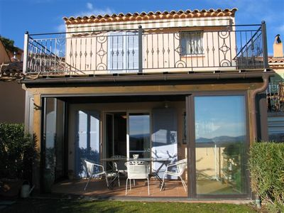 Photo for Lovely air conditioned 2 bedroom villa with stunning views