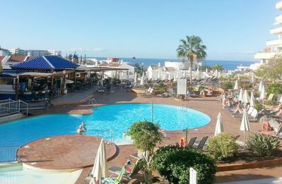 Photo for Fantastic ocean/pool view apartment, 300 m from the sea