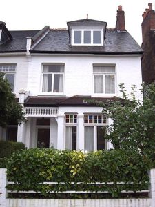 THE house; the apartment is on the ground floor with a lovely garden