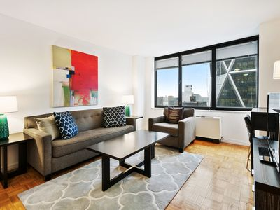 Photo for Contemporary 2BR | Work Desk & WiFi | Midtown by GLS