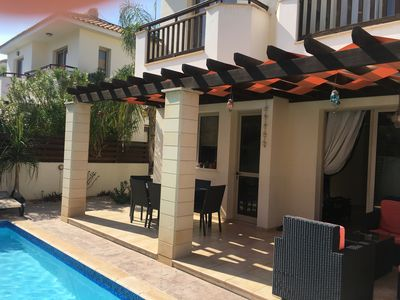 Photo for DETACHED LUXURY VILLA WITH PRIVATE POOL, CLOSE TO BEACH, BARS AND RESTAURANTS.