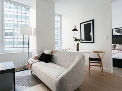 Photo for Sonder | 180 Water | Delightful 1BR + Rooftop