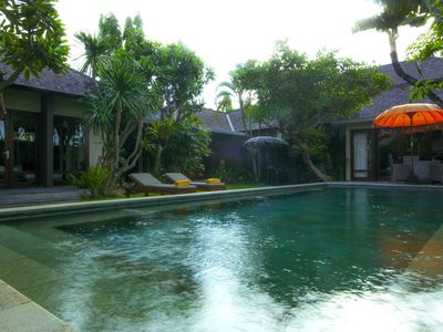 Photo for OrangeC, Luxury 2 Bedroom Villa, Closed Living, Seminyak