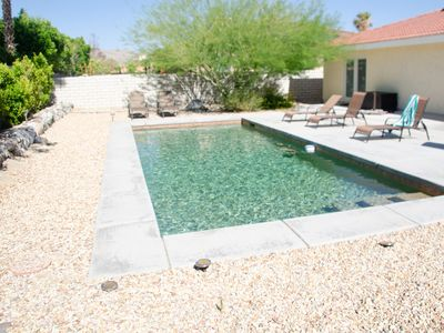 Photo for Escape to a Desert Oasis with Mountain Views, | Private Saltwater Pool and Golf!
