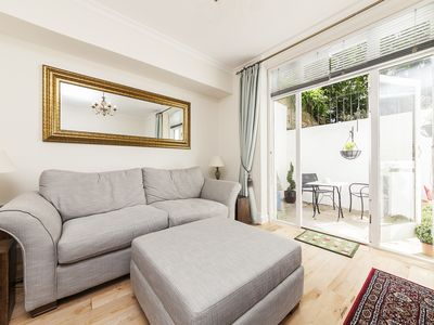 Photo for Lovely Apartment With Patio In Chelsea