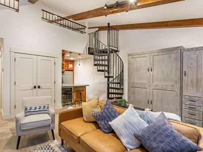 Photo for No Car Needed! Heart of Vail, Walk to Lifts, Shops & Restaurants, Newly Renovated Studio w/ Loft!