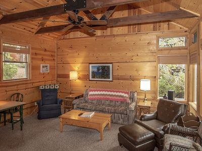 Photo for Green's Haven: 2 BR / 2 BA house and ski lease in Carnelian Bay, Sleeps 6