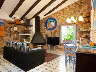 Photo for RUSTIC APARTMENT IN THE OLD TOWN TOSSA