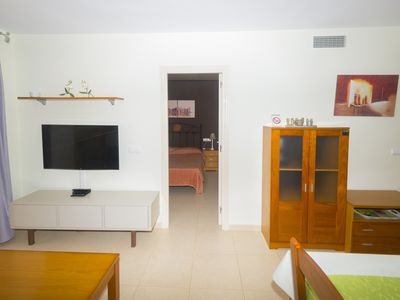 Photo for Modern apartment with frontal sea views on the Edf. Ambar Beach