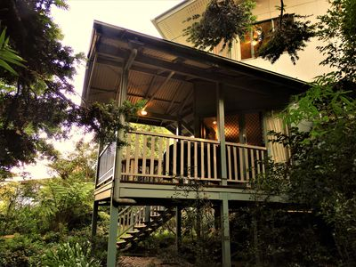 Photo for 'Silverleaf'- Bunya Mountains Haven - Relax by a warm glowing fire or in the spa