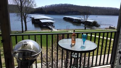 Photo for Walkout Lake Front Condo In The Quiet State Park And Close To Everything!