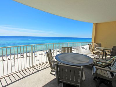 Photo for ☀BeachFront for 7 @ Twin Palms 804-2BR☀Aug 15 to 18 $694 Total! Pool+HotTub!