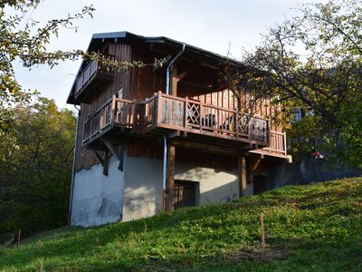 Photo for Detached chalet, 6 people, stunning mountain and valley views