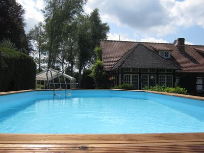 Photo for Bed and breakfast with a swimming pool east of Limoges