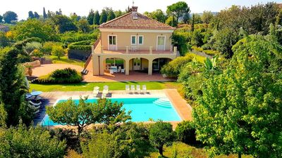 Photo for Villa Mareneve, Luxury Villa with Private Pool, view of Etna and Sea