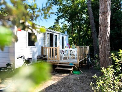 Photo for Camping Le Domaine de Dugny **** - Mobile Home 3 Rooms 4 People