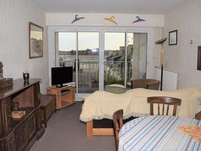 Photo for Apartment SEA VIEW 2 bedrooms 3 pers in the center of TREGASTEL