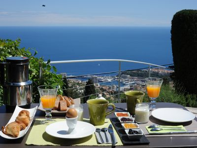 Photo for B§B ,quiet wonderful view on Monaco for your vacations , near Nice Menton Monaco