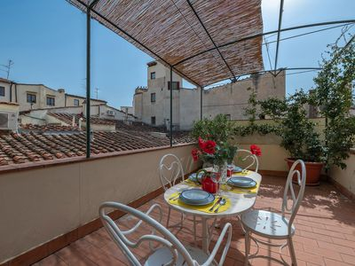Photo for Belvedere apartment in Santa Croce with WiFi, integrated air conditioning, private roof terrace & l…