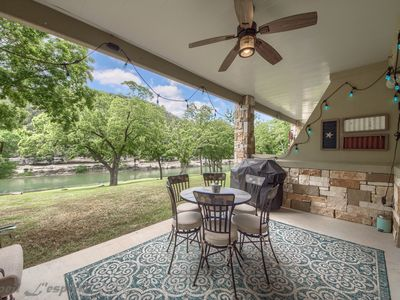 Photo for New Listing! Wonderful 2 bedroom, 2 bathroom condo on the Guadalupe River!