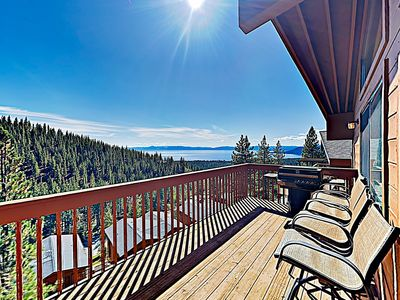 Photo for New Listing! Lake-View Haven w/ 2 Private Decks & Pool Table
